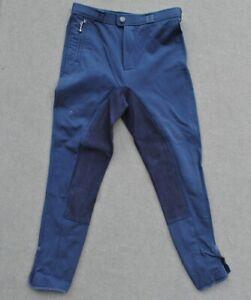 TCM Kinder Reithose Kinderreithose blau Vollbesatz Gr.134-140 siehe Maße!!