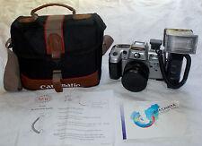 MACCHINA FOTOGRAFICA - PHOTO CAMERA/ CANOMATIC FMD 35mm - FLASH TF-207