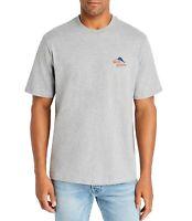 Tommy Bahama Mens T-Shirt Heather Gray Size Medium M Hooked Feeling Tee $49 380