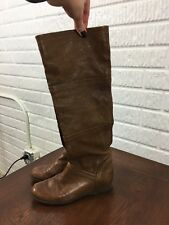 f61bcddd9ac STUART WEITZMAN Brown Leather Knee-high Boots Size 6 M