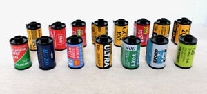 JOB LOT of Undeveloped 35mm film rolls from film camera Expired Lomo retro