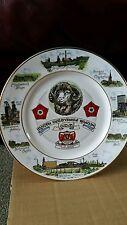 Edwardian china colliery plate north derbyshire branch udm Ltd edition