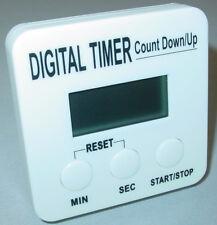 Digital temporizador con LCD, Despertador Cronómetro, Reloj de arenea, cocina,