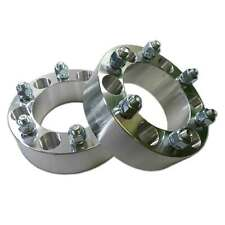 """Pair 6 x 5.5 139.7 Wheel Spacers 12x1.5 1.5"""" fit 4Runner Tacoma Colorado Canyon"""