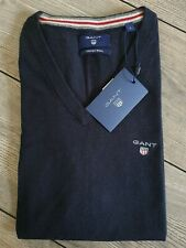 Gant Cotton Wool Slipover Pullunder Weste Sweater Gr.L ( Eher M ) NAVY BLUE...