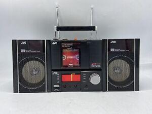 VINTAGE 1984 JVC PC-RM100JW Cassette / Radio Boombox REMOVABLE WALKMAN