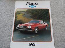 1979 Chevrolet Monza Sales Brochure