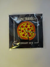 Loot Crate Gaming Time Travel Pizza Pin Feb 2018