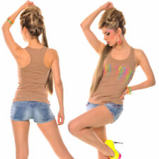 Maglie e camicie da donna in cotone beige taglia 40
