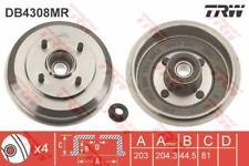 DB4308MR TRW Brake Drum Rear Axle