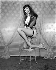 Bettie Page Hot Glossy Photo No4