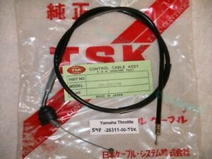 Yamaha YZ80 76-77 598-26311-00 Top Throttle Cable