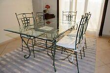 Salle à manger - Table en verre et 6 chaises