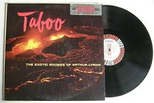 ARTHUR LYMAN (LP 33T)  TABOO THE EXOTIC SOUNDS OF ARTHUR LYMAN