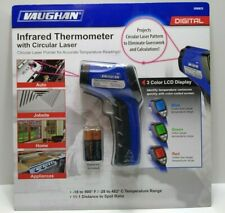 New Vaughan 3 Color Lcd Digital Infrared Thermometer With Circular Laser Pointer