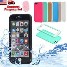 Waterproof Shockproof Hybrid TPU Case Full Cover iPhone SE XS X 8 7 6s 6 Plus 5