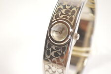 Coach 14502608 Scout Signature Stainless Steel Bangle Watch