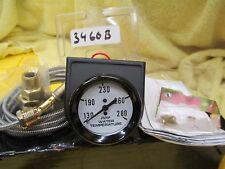 "Make Waves Brand Mechanical Water Temperature Gauge #3460b  (2 1/16"" Diameter)"