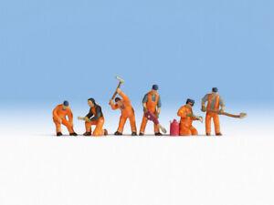 """Noch 45276 Voie Tt,Figurines """" Équipe de Construction des Rails """" # Neuf IN Ovp"""