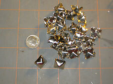 """Silver Pyramid Studs- spot- spike for leather craft- 12 mm (1/2"""")-25 pcs"""
