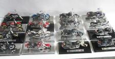 16 Maisto Harley Davidson Die-Cast Models Lot of 1:18 Scale Bikes on Bases