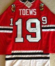 Jonathan Toews Signed Chicago Blackhawks Jersey / 3x Stanley Cup Champion JSA