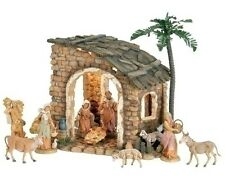 Fontanini Lighted Nativity set of 10 Item 54622