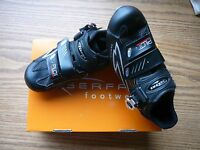 Serfas Pilot Women's Black Road Bike Shoes SPD-SL 3-Bolt Size EU-39 US-7.5 New