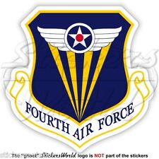 United States USAF Fourth AF Badge AFRC USAAF 4th Luftwaffe Abzeichen Aufkleber