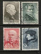 Nederland Netherlands 283-286 Zomerzegels   1936 gestempeld-used