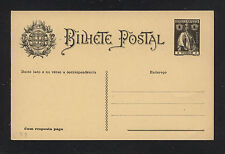 Timor   postal reply   card  complete  1 avos    unused          HD1117