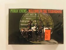 PUBLIC ENEMY Welcome To The Terrordome 1989 CASSETTE SINGLE New SEALED Def Jam