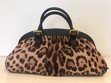 Beautiful Leopard Print Dolce &Gabbana  Pony Skin Bag