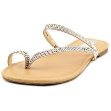 Flat (0 to 1/2 in.) Heel Canvas Flip Flops for Women