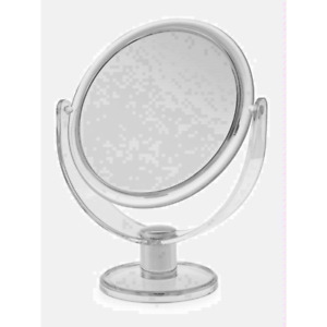 Blue Canyon Medium Sized Free Standing Clear Cosmetic Mirror UK