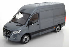 a687d664873 Norev 2018 Mercedes Benz Sprinter Delivery Van Grey Metallic 1 18 New  Release!