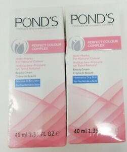 Pond's Perfect Colour Complex Anti-marks Normal to Dry Skin Cream 1.35 oz 2-Pack