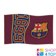 FC BARCELONA FLAG 1899 LARGE OFFICIAL FOOTBALL SOCCER CLUB NEW