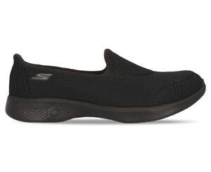 Skechers Women's GOwalk 4 - Propel Slip-On Shoes - Black AG494