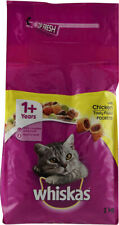 Whiskas 1+ Cat Complete Dry with Chicken