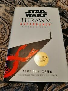 *AUTOGRAPHED/SIGNED* Star Wars: Thrawn Ascendancy: Chaos Rising HC - BRAND NEW!