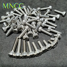1~10pcs M4 x 4~25mm Hex Socket Cap Head Allen Key Bolts 304 Stainless Steel