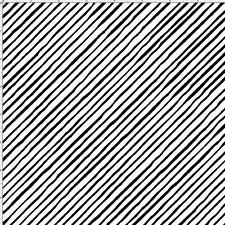 Loralie Fabric Sorta Stripe Bias white/black Dog Gone! cotton quilt craft  BTY