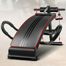 Foldable Sit Up Bench Ab Crunch Exercise Board Decline Fitness Workout Gym Home