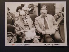 Glossy Press Photo 1980 Waltham James Hurley and Frank Backoff