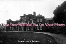 ES 225 - Colchester General Hospital, Lexden Road, Essex - 6x4 Photo