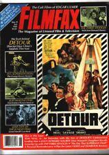 FILMFAX #11 (1988) the death of George Reeves, Edgar Ulmer, The Three Stooges
