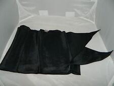 Vintage Ultra-Crepe Black Acetate Scarf