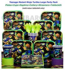 TMNT Birthday Party Supplies Pack T.Cover Streamer Mutant Ninja Turtles 59 pcs