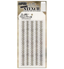 Tim Holtz Layering Stencil Tinsel Stencil ths094 Stampers Anonymous